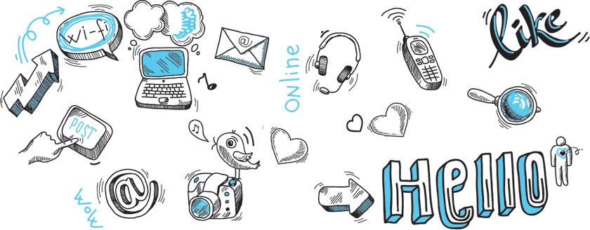 Technology Doodles