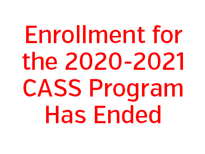 CASS Enrollment Ended